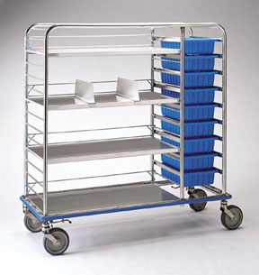 Pedigo CDS-178 Central Supply Cart